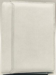 【訳あり20%オフ!】コンパクトサイズ(バイブルサイズ)エコナチュラル・バインダーリング径20mmホワイト(2007)