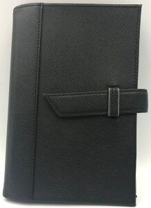 【訳あり30%オフ!】 ポケットサイズ ビジネス・スタイル・バインダー リング径15mm ブラック (2034)定価9500円の商品です