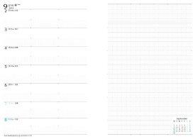【公式】フランクリンプランナー ウィークリー・ホリゾンタル・リフィル(レフトタイプ)ポラリス バイブルサイズ ウィークリー 2019 1月始まり 15ヶ月 フランクリン 手帳 システム手帳 スケジュール帳