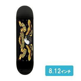 ANTIHERO アンタイヒーロー clasic eagle lg black スケートボード skateboard スケボー デッキ 板 deck サイズ 8.12インチ アンチヒーロー