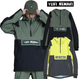 ダブルエー ウェア− ユキネマキ AA HARD WEAR YUKINEMAKI プルオーバー 撥水 防水プルオーバー ジャケット スノーボード ウエア