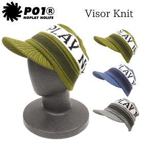 プレイデザイン ビーニー ツバ付きビーニー ニット帽 3REE P01 OVER PLAYDESIGN PO1 PLAY VISOR KNIT