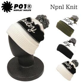 プレイデザイン ビーニー ツ ニット帽 3REE P01 OVER PLAYDESIGN PO1 PLAY NPNL KNIT