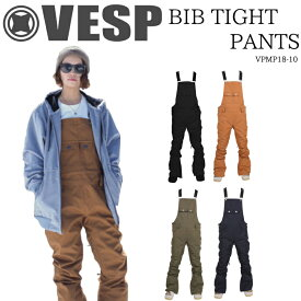 ベスプ ビブタイトパンツ スノーボード パンツ VESP BIB TIGHT PANTS VPWP18-10 スノーボードウェア 18-19