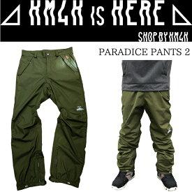 カモシカ パラダイス パンツ 2 KM4K PARADICE PANTS 2 スノーボードウエア 18-19 ※お取り寄せ商品