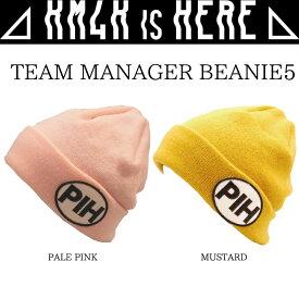 カモシカ ビーニー KM4K BEANIE TEAM MANAGER BEANIE5 GORO'S CAP ニット帽 帽子