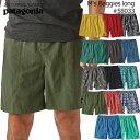 """パタゴニア PATAGONIA ショーツ 58033<Men's Baggies Longs - 7"""" メンズ バギーズロング(股下18cm)>Baggies shortsバギーズショーツショートパン"""
