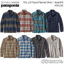 パタゴニア PATAGONIA  長袖シャツ 54130M's L/S Fjord Flannel Shirt - AF メンズ ロングスリーブ フィヨルド フラ…
