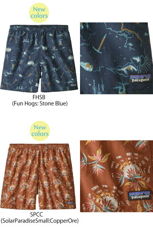 """あす楽 パタゴニア PATAGONIA バギーズショーツ 57021<Men's Baggies Shorts - 5"""" メンズ バギーズショーツ(股下13cm)>ショートパンツ ネコポス発送で送料無料"""