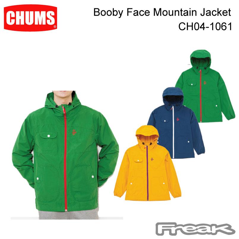CHUMS チャムス CH04-1061<Booby Face Mountain Jacket ブービーフェイスマウンテンジャケット >※取り寄せ品