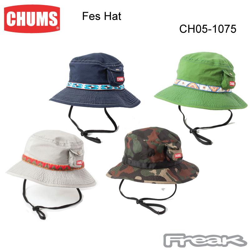 【72時間限定ポイント3倍】CHUMS チャムス 帽子 CH05-1075<Fes Hat フェスハット >※取り寄せ品