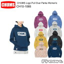 CHUMS チャムス CH10-1085<CHUMS Logo Pull Over Parka Women's チャムスロゴプルオーバーパーカ >※取り寄せ品