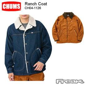 CHUMS チャムス メンズ ジャケット CH04-1126<Ranch Coat ランチコート(アウター/コート) >※取り寄せ品