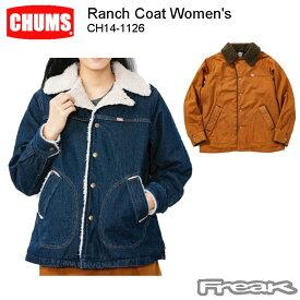 CHUMS チャムス レディース ジャケット CH14-1126<Ranch Coat Women's ランチコート(アウター/コート) >※取り寄せ品