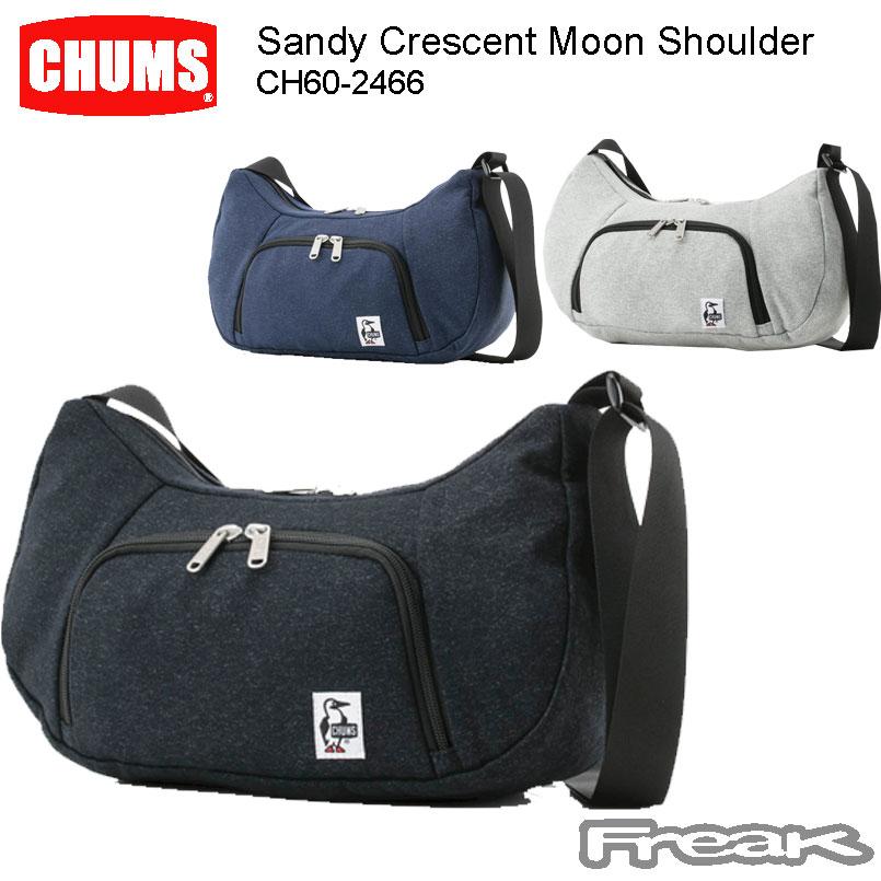 CHUMS チャムス パックパック CH60-2466<Sandy Crescent Moon Shoulder サンディークレセントムーンショルダー(ボディー/ショルダーバッグ)>※取り寄せ品