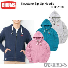 CHUMS チャムス メンズ パーカー CH00-1196<Keystone Zip-Up Hoodie キーストーンジップアップフーディ>※取り寄せ品