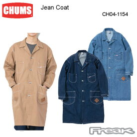 CHUMS チャムス メンズ ジャケット CH04-1154<Jean Coat ジーンコート(デニムジャケット|アウター)>※取り寄せ品