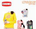 ラッピング無料【CHUMS チャムス】CH11-1003<ブービーフェイスロゴドライTシャツ長袖>※取り寄せ品