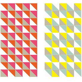 Loco Yellow & Pink large リバーシブル / IXXI ウォールピクチャーsize 20cm x 20cm (50cards) 壁を傷つけない 簡単取付 賃貸物件の模様替えにも ヨーロッパで大人気な 名画が楽しめます。
