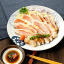 タレ付き種鶏のあぶり焼き味付き【むね1枚肉】140g以上大きさにバラツキあり たたき 鶏 鶏肉