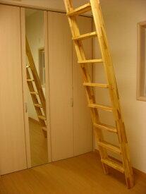 木製階段インテリア用 ロフト階段 ロフトはしご 金物セット (fus-016-11)お洒落なロフト階段。好きなカラーで仕上げて下さい。そのままでも使用可能ですので木の天然色の変化をお楽しみ頂けます。無塗装パイン集成材。