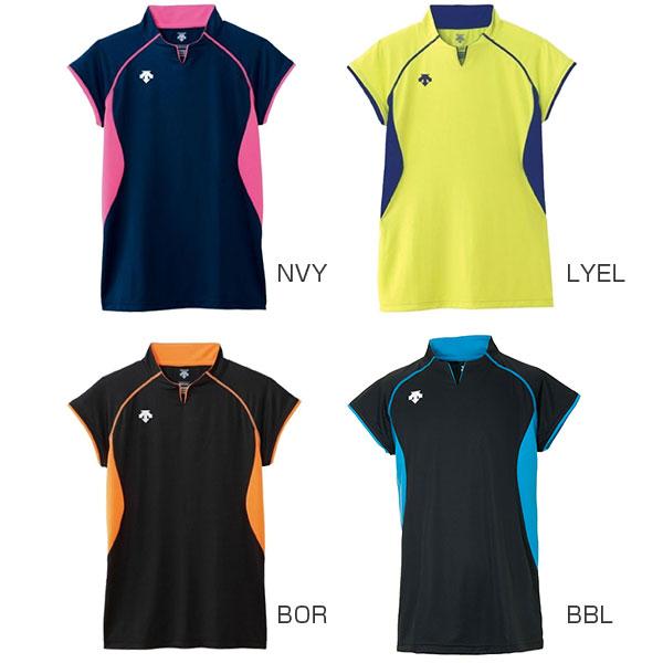 デサント DESCENTE メンズ レディース 半袖Tシャツ バレー フレンチスリーブゲームシャツ DSS-4430 dss-4430