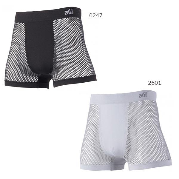 ミレー MILLET メンズ ドライナミック メッシュ ボクサー アンダーウェア スポーツインナー 下着 パンツ MIV01250
