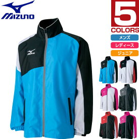 ミズノ Mizuno メンズ レディース ジュニア ウォーマーシャツ ウインドブレーカー 防風 テニスウエア スポーツウェア 62JE6503