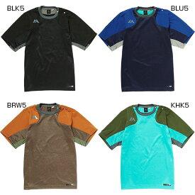 メンズ オーセンティック テック フリース ショートスリーブ クルーネック 半袖Tシャツ 野球ウェア マジェスティック Majestic XM01 0022