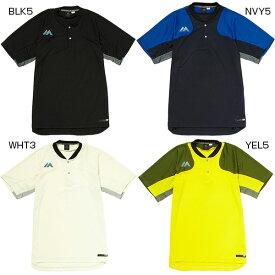 メンズ オーセンティック テック 2ボタン トレーニング ティー 半袖Tシャツ 野球ウェア スポーツウェア マジェスティック Majestic XM01 0023