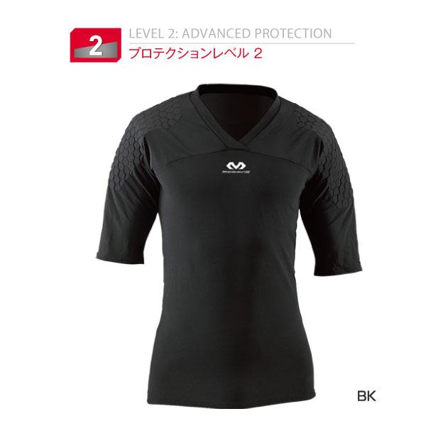 マクダビッド McDavid メンズ ヘックス ゴールキーパーシャツ ショートスリーブHEX GK アンダーウェア スポーツインナー 下着 M7733