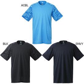メンズ ベースボールシャツ 半袖Tシャツ トップス 野球 ストレッチ デサント DESCENTE DB-121