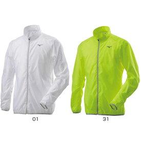 ミズノ Mizuno メンズ ポーチジャケット ウィンドブレーカーシャツ ウインドブレーカー トップス 防風 マラソン ランニング ウェア J2ME8510