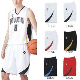 メンズ レディース ジュニア ゲームウェア ゲームパンツ バスケットボールウェア バスパン ボトムス ハーフパンツ 単品 下 3S-2XO コンバース CONVERSE CB281801Y