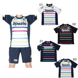 スパッツィオ Spazio メンズ レディース COLORATOコンファイン2プラクティスシャツ サッカーウェア フットサルウェア 半袖 練習着 GE-0358