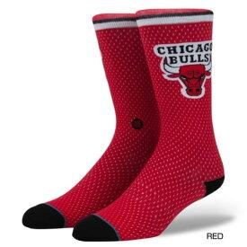 メンズ シカゴ ブルズ ジャージー BULLS JERSEY 靴下 ソックス NBA プロ バスケットボール リーグ 応援グッズ スタンス STANCE M545D17BUL