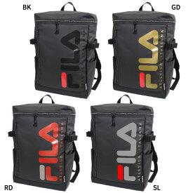 フィラ FILA メンズ レディース スクエアリュック リュックサック デイパック バックパック バッグ 鞄 撥水 大容量 ボックス型 スクエア型 FL-0005