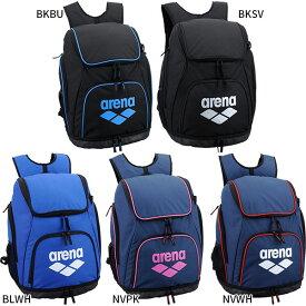 34L アリーナ arena メンズ レディース リュックサック デイパック バックパック バッグ 鞄 スイマーズリュック 大容量 AEANJA01