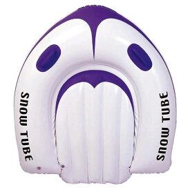 ジュニア キッズ スノーチューブ #7001 スノーチュービング エアチューブ ソリ 浮き輪 スノボ キッズ用 乗用そり 雪遊び 雪そり キャプテンスタッグ CAPTAIN STAG ME1081
