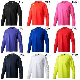 メンズ ワンポイントロングスリーブシャツ トレーニングウェア 長袖Tシャツ トップス スポーツ トレーニング デサント DESCENTE DMC-5801LB