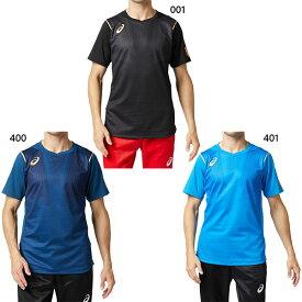 アシックス asics メンズ イーグルライン EAGLE LINE EL ショートスリーブトップ バレーボールウェア トップス 半袖Tシャツ 2051A112