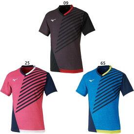 ミズノ Mizuno メンズ レディース ゲームシャツ 卓球 卓球ウェア トップス 半袖Tシャツ 82JA0002
