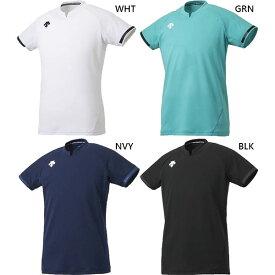 メンズ レディース 半袖ゲームシャツ バレーボールウェア トップス デサント DESCENTE DSS-4024
