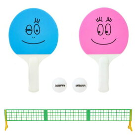 サクライ貿易 SAKURAI メンズ レディース ジュニア バーバパパ ミニ卓球セット 卓球用品 ピンポン おもちゃ 子供 子ども 遊び 家族 室内 屋内 家 部屋 スポーツ BP-107
