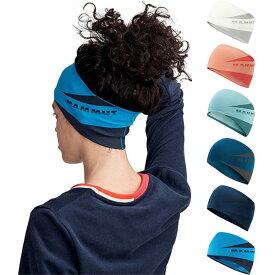 メンズ レディース セルティグ ヘッドバンド Sertig Headband 登山用品 ロゴ 軽量 吸汗 マムート Mammut 1191-00040