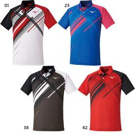 メンズ レディース ゲームシャツ 半袖 テニス バドミントンウェア トップス ミズノ Mizuno 62JA0502