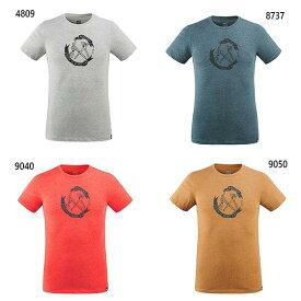 メンズ オールド ギア Tシャツ ショートスリーブ アウトドアウェア トップス 半袖 速乾 UVカット ミレー MILLET MIV8668