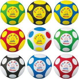 ジュニア キッズ ふぁふぁサッカー fuafua ふぁふぁサッカーボール やわらかい 柔らかい 痛くない 4号 ミカサ MIKASA