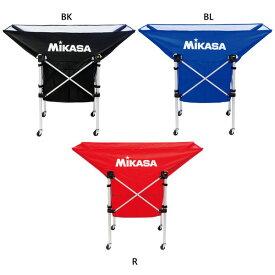 3点セット ミカサ MIKASA メンズ レディース 折り畳み式 舟形ボールカゴ 幕体 キャリーケース バレーボール サッカー バスケット ハンドボール 部活 体育