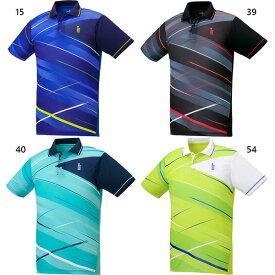 メンズ レディース ジュニア ゲームシャツ テニス バドミントンウェア トップス ポロシャツ ゴーセン GOSEN T2040